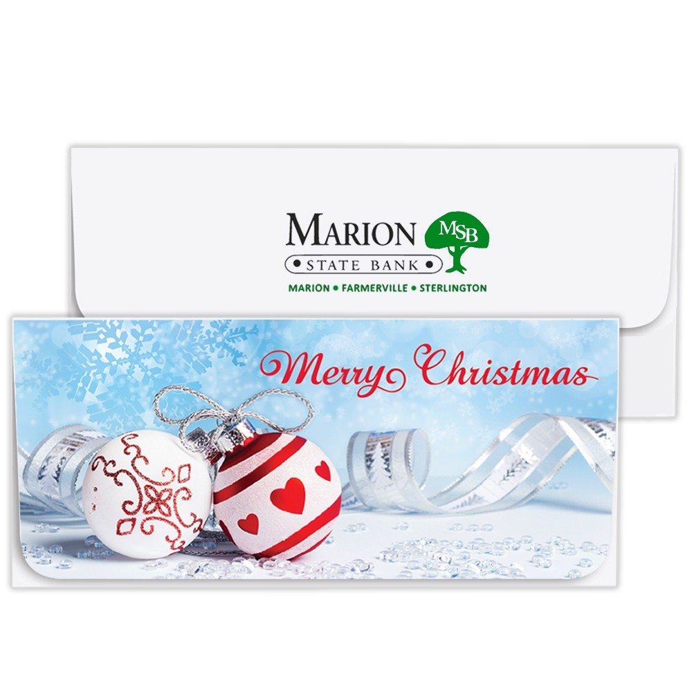 Christmas Currency Envelopes