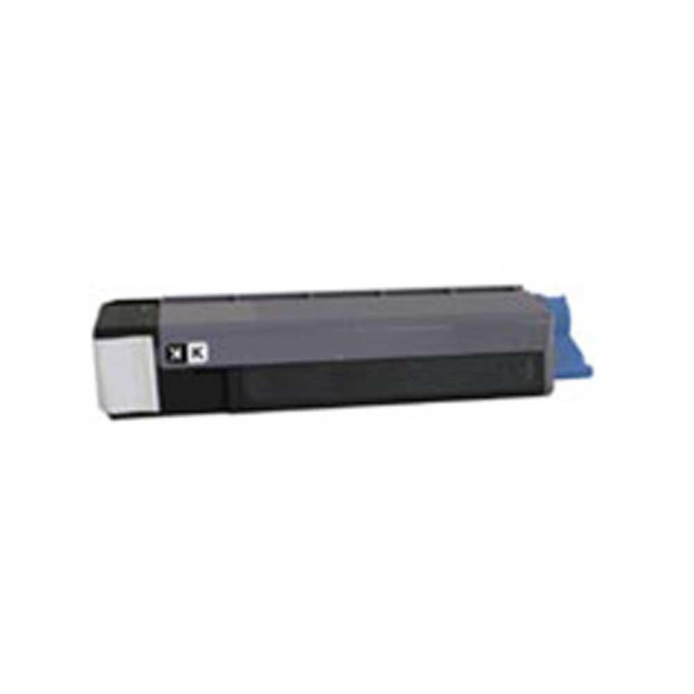 Oki-Okidata Toner Cartridge - Black - Compatible - OEM 43324469