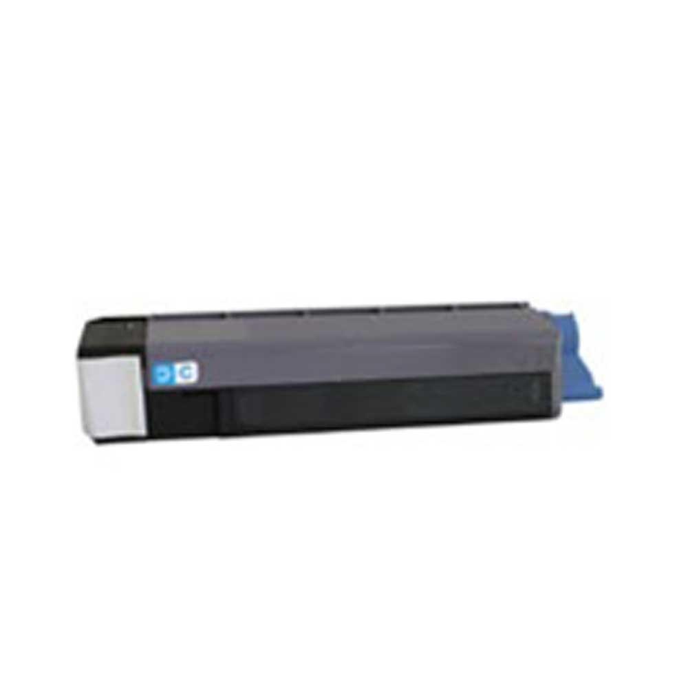 Oki-Okidata Toner Cartridge - Cyan - Compatible - OEM 43324468