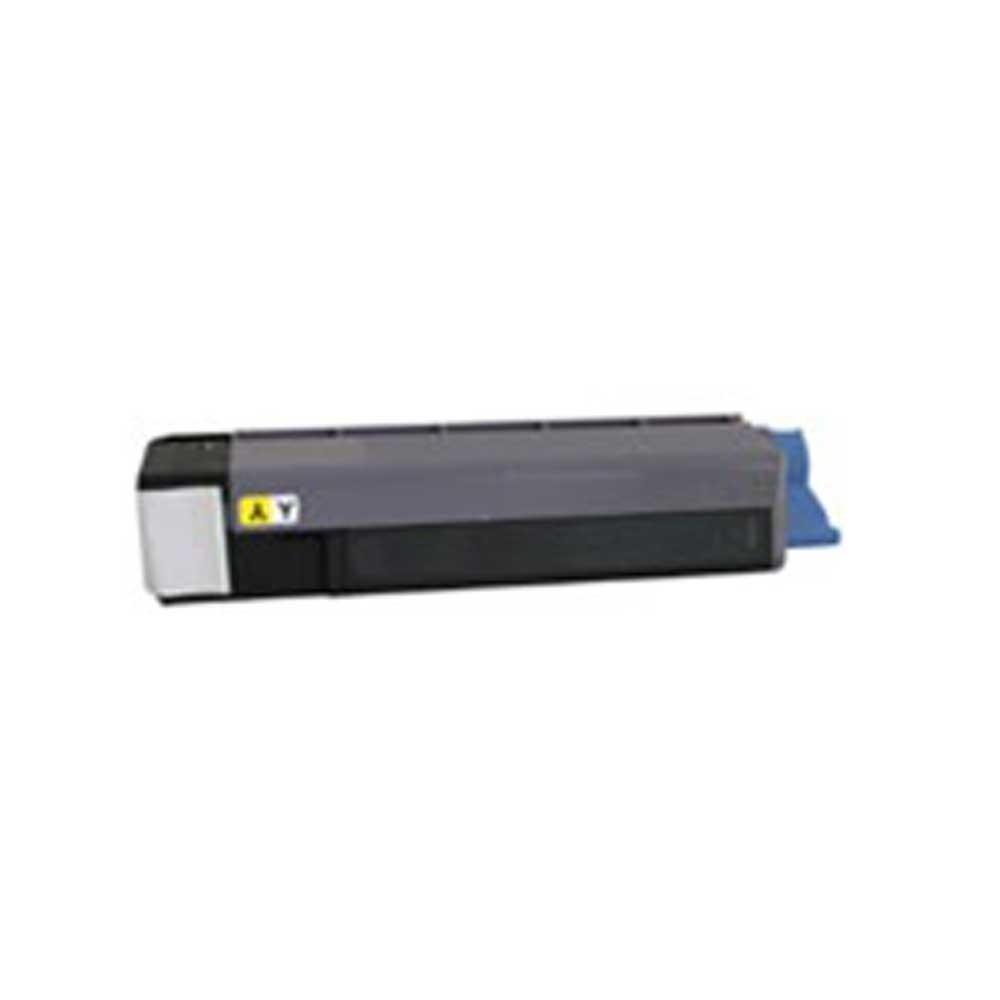 Oki-Okidata Toner Cartridge - Yellow - Compatible - OEM 43324466