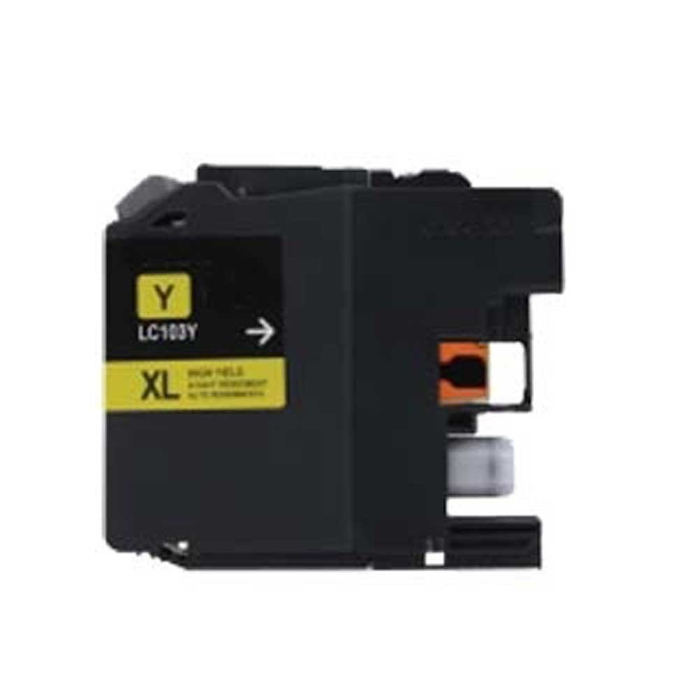 Brother Toner Cartridge - Yellow - Compatible - OEM LC103Y