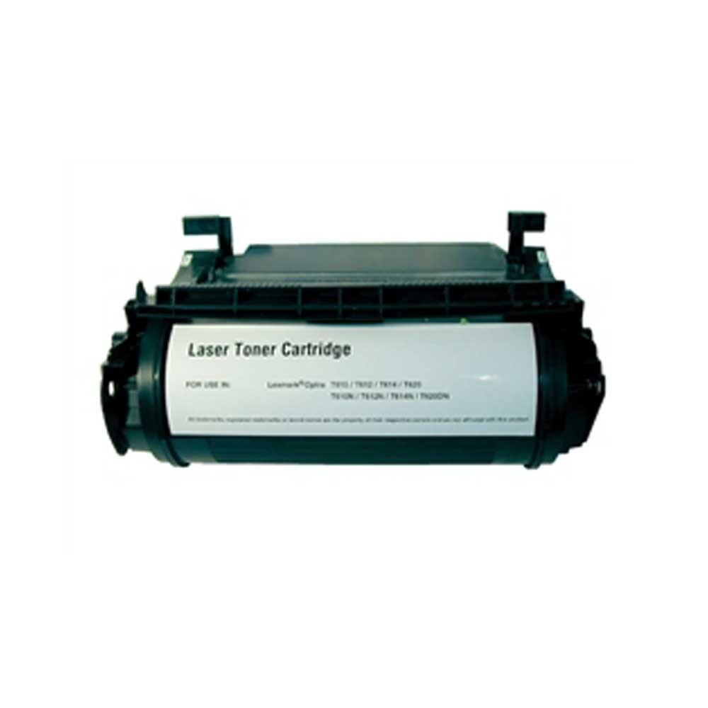 Lexmark Toner Cartridge - Black - Compatible - OEM 12A5745