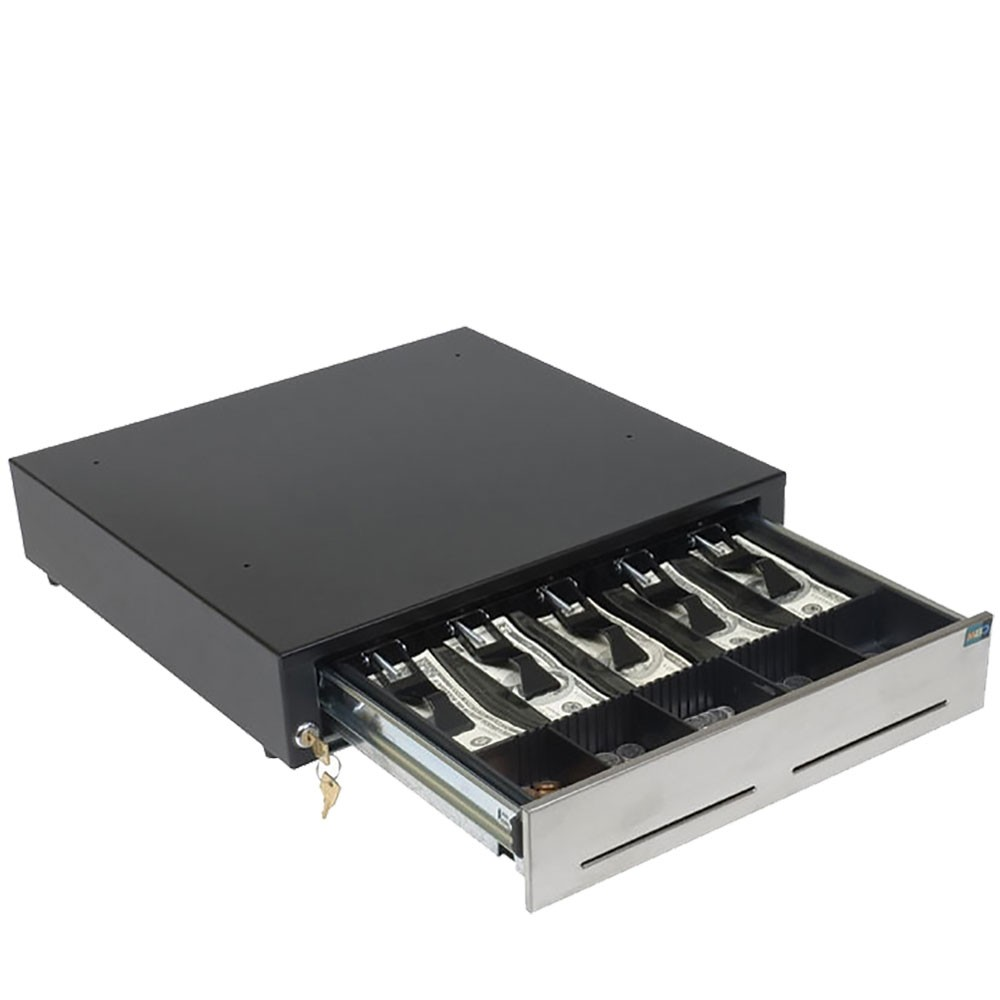 6E Universal 24V Electronic Cash Drawer - Keyed Differently