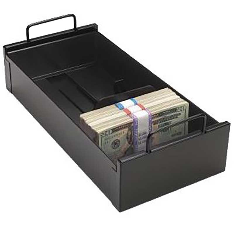 Black Currency Tray w/Follower Block