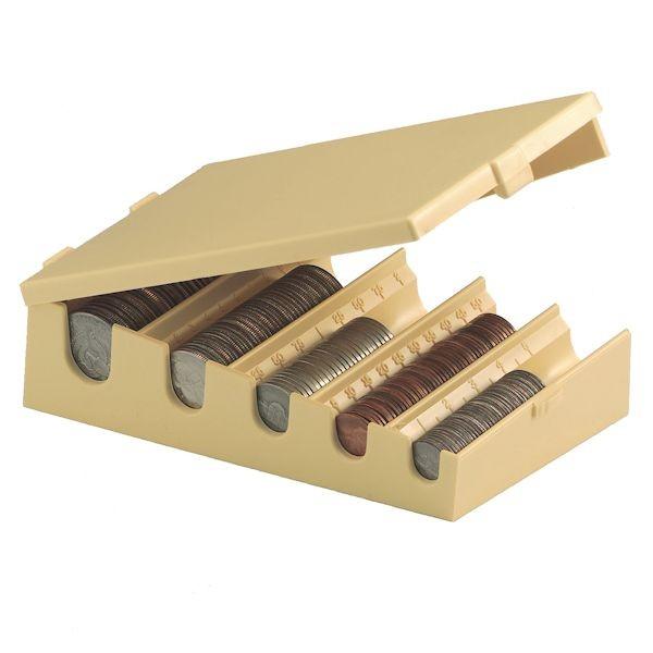Coin Organizer - 6-1/4W x 1-7/8H x 3-5/8D