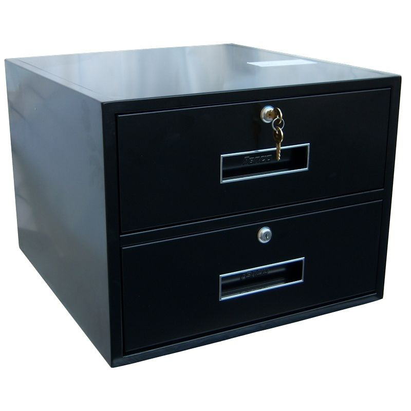 Fenco Add-on of Two Drawers for 18 In Pedestals & Rolling Banks
