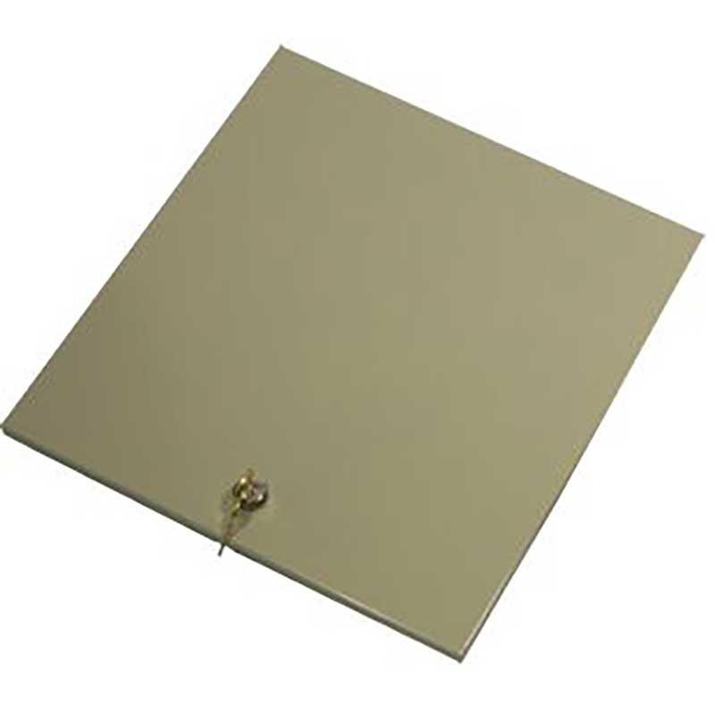Fenco Metal Locking Lid For 130-10011 & 130-10013 - 14-27/32W x 14-3/32D