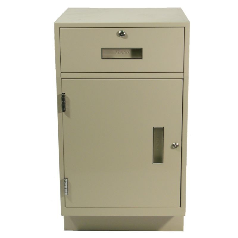 Fenco Teller Pedestal, (1) Drawer, (1) Cabinet