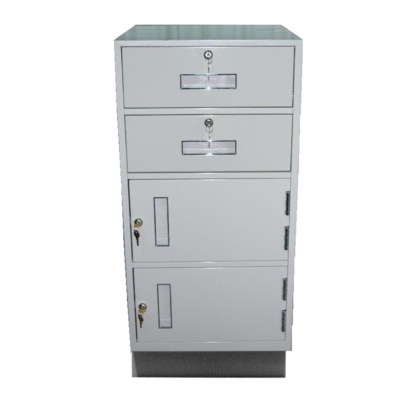 Fenco Teller Pedestal, (2) Drawers & (2) Cabinets
