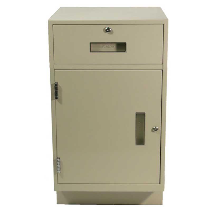 Fenco Silverline Pedestal (1) Box Drawer, (1) Cabinet