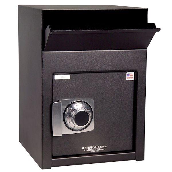 Front-Loading Dep w/dual custody safe deposit lock