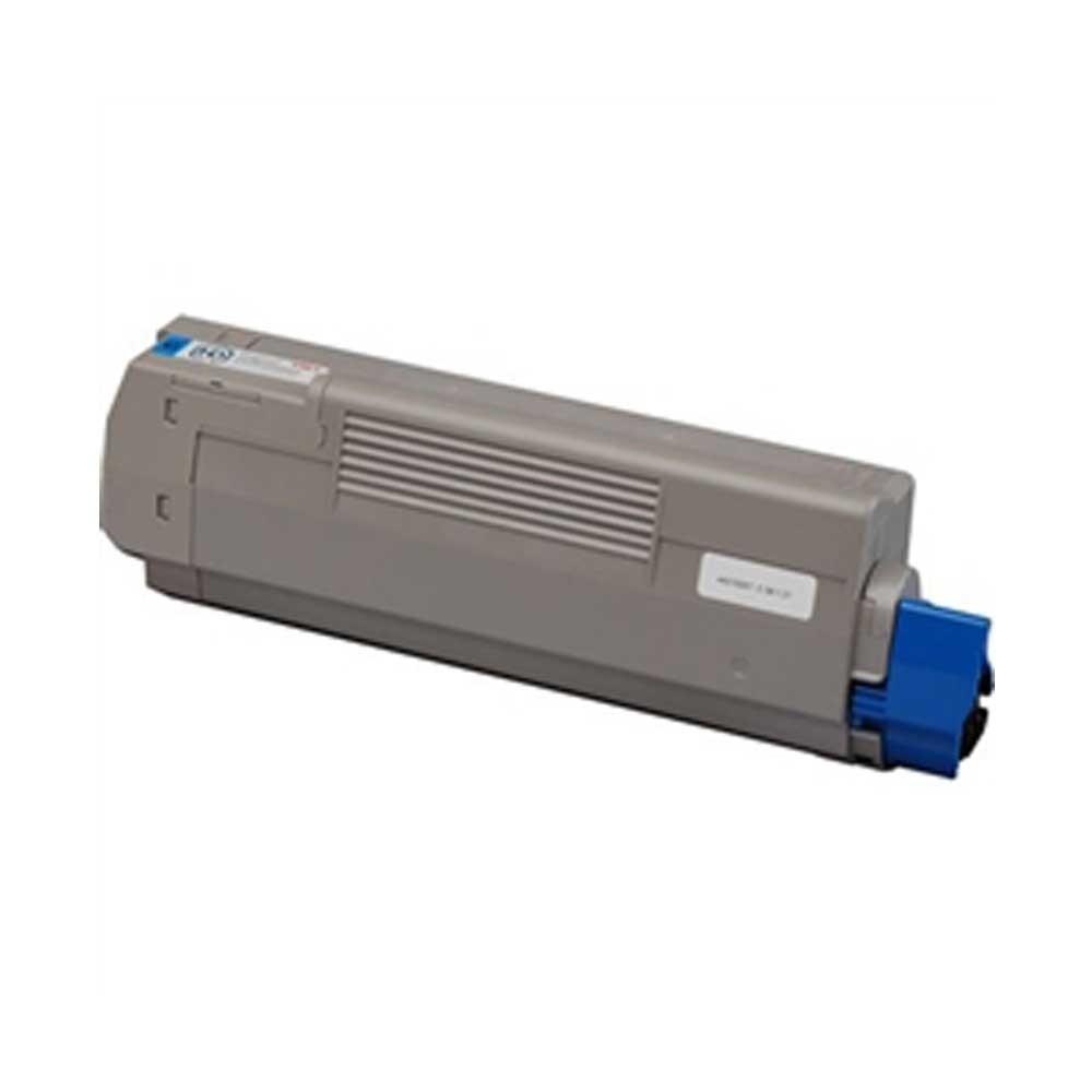 Oki-Okidata Toner Cartridge - Cyan - Compatible - OEM 43865719