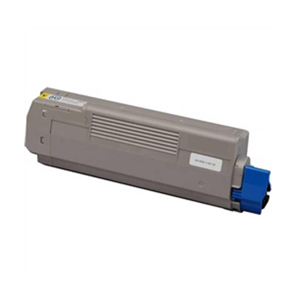 Oki-Okidata Toner Cartridge - Yellow - Compatible - OEM 43865717