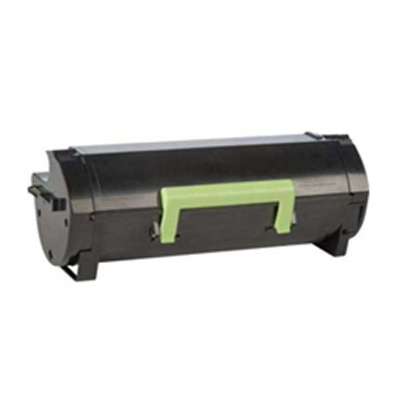 Lexmark Toner Cartridge - Black - Compatible - OEM 60F1X00