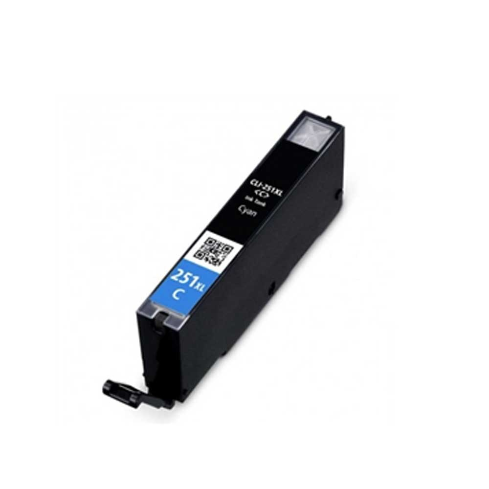 Canon Toner Cartridge - Cyan - Compatible - OEM CLI-251Xl