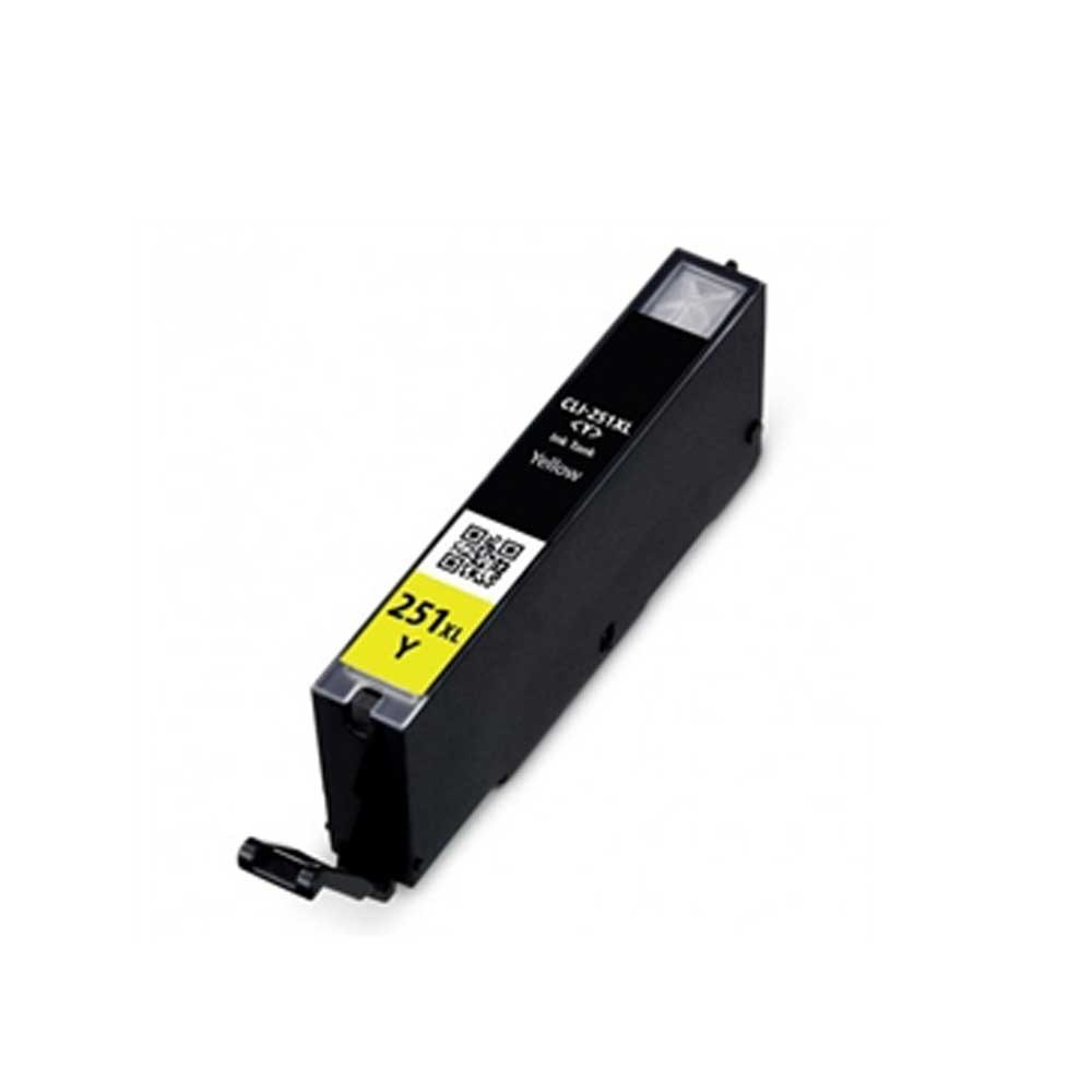 Canon Toner Cartridge - Yellow - Compatible - OEM CLI-251XL