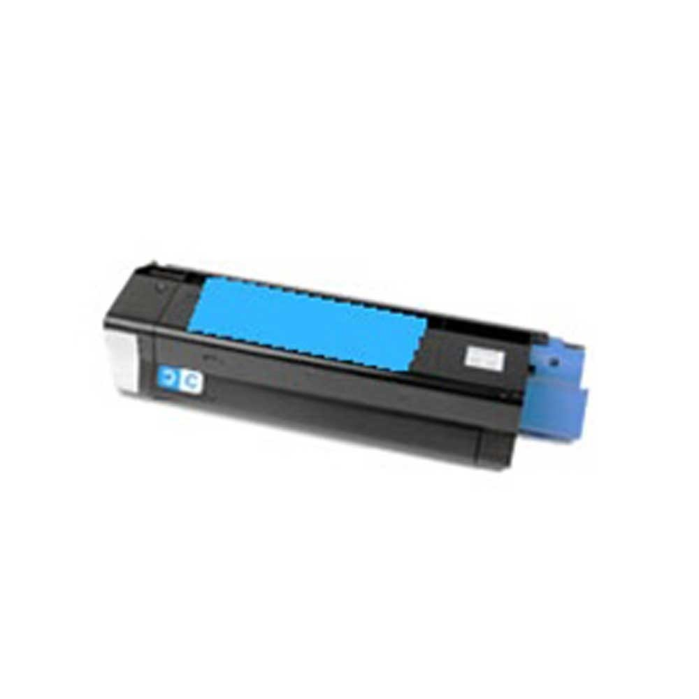 Okidata Toner Cartridge - Cyan - Compatible - OEM 43034803