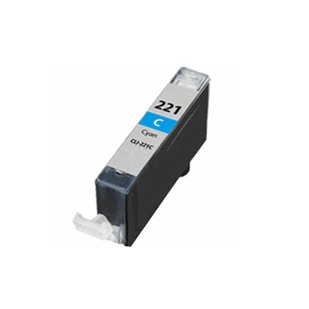Canon Ink Cartridge - Cyan - Compatible - OEM CLI-221C
