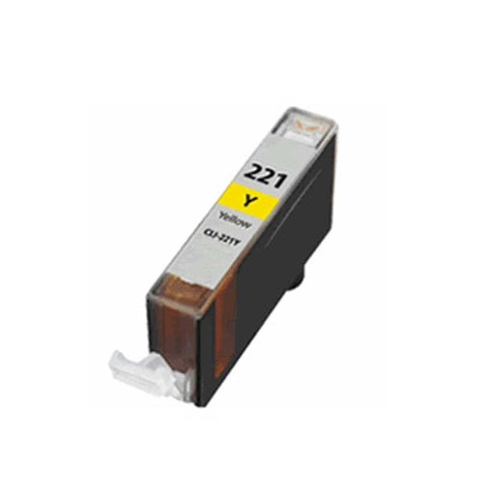 Canon Toner Cartridge - Yellow - Compatible - OEM CLI-221Y