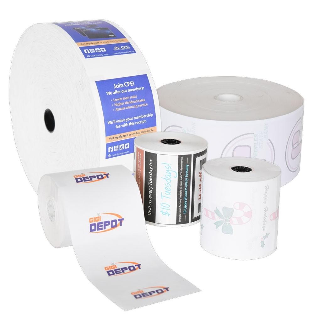 Custom Printed ATM or POS Paper Rolls
