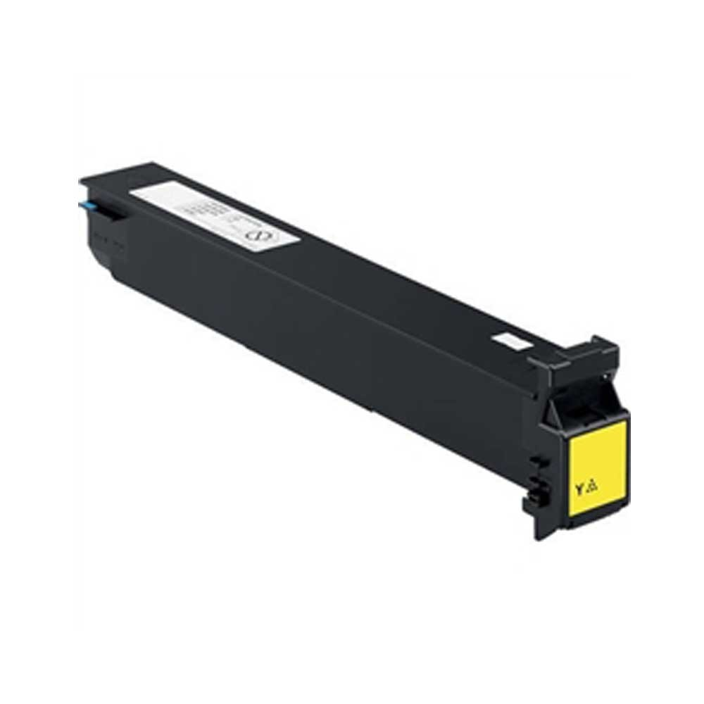 Konica-Minolta Toner Cartridge - Yellow - Compatible - OEM TN-312Y