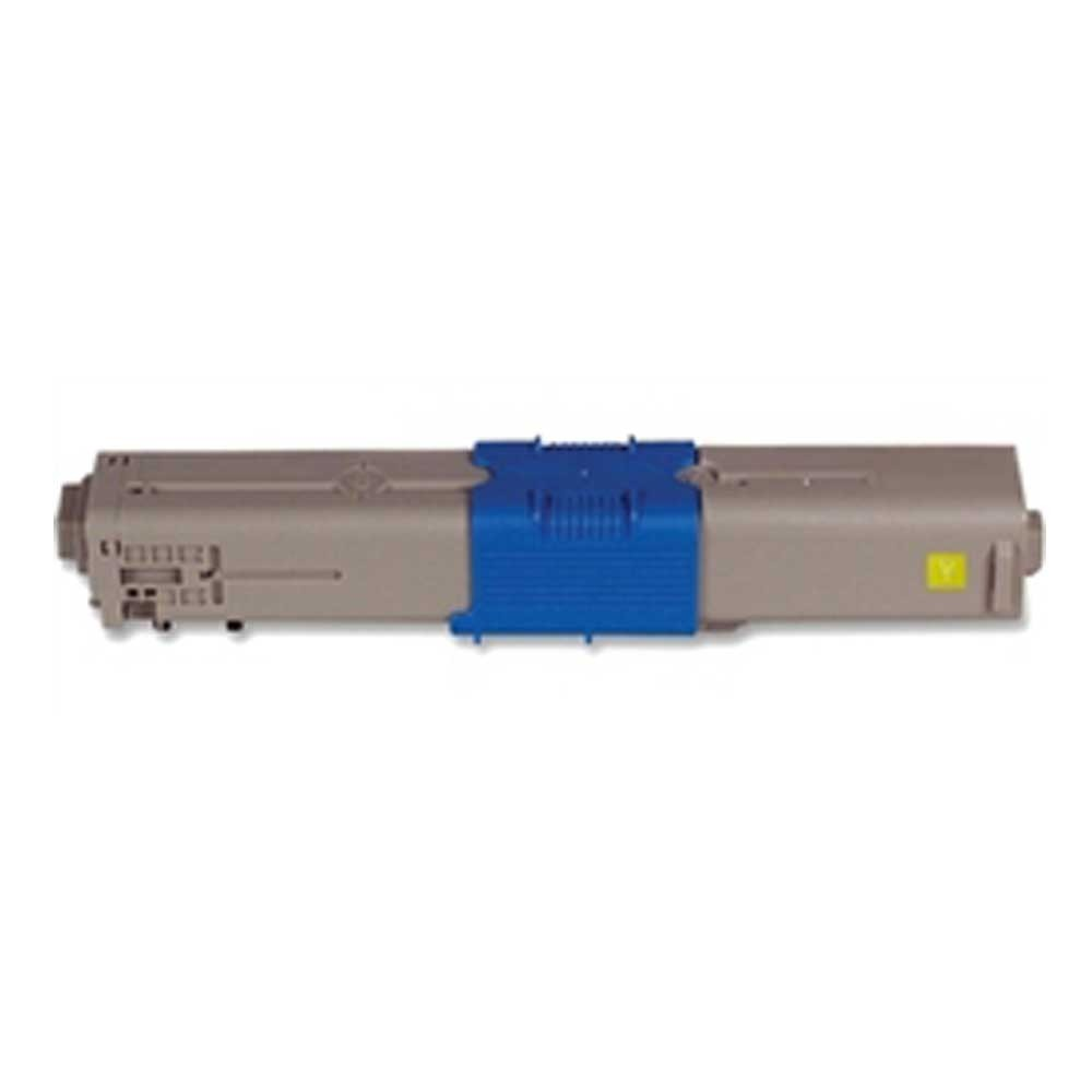 Oki-Okidata Toner Cartridge - Yellow - Compatible - OEM 44469701