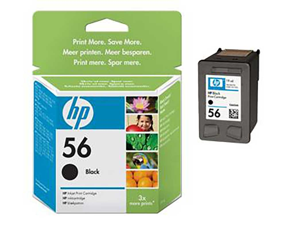 HP 56 Compatible Ink Cartridge, OEM part# C6656AN