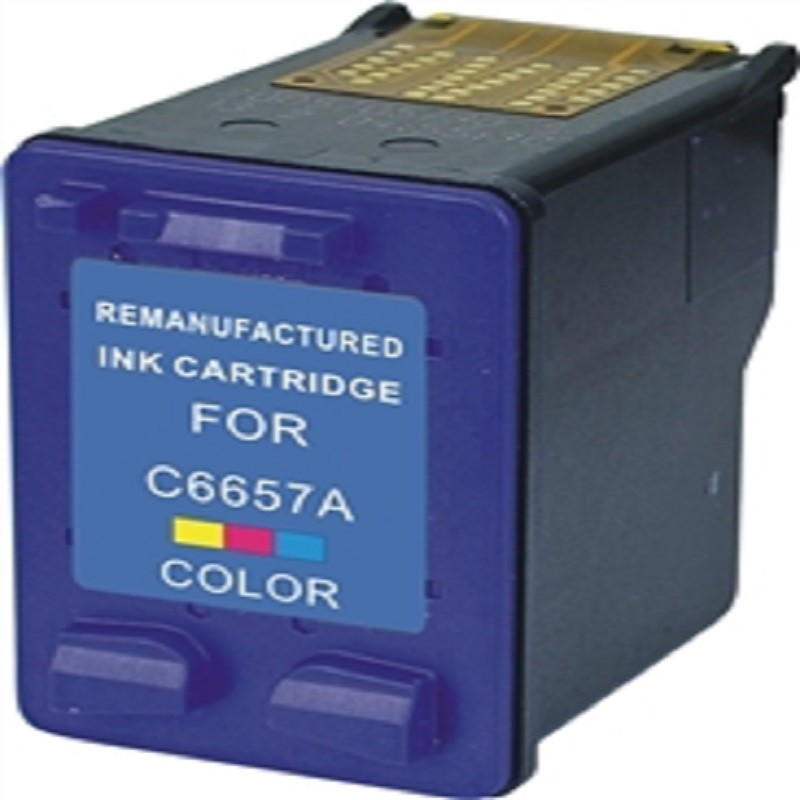 HP Ink Cartridge - Color - Compatible - OEM C6657AN