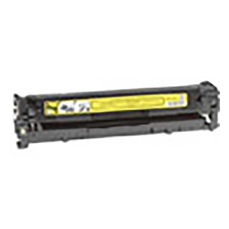 HP Toner Cartridge - Yellow - Compatible - OEM CB542A