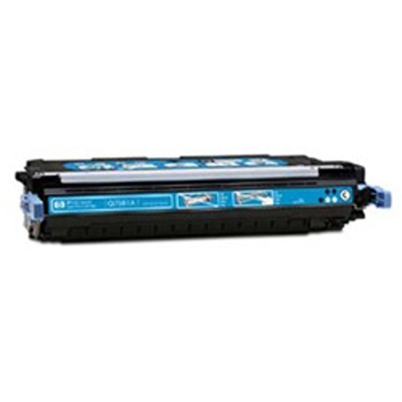 HP Toner Cartridge - Cyan - Compatible - OEM Q7581A