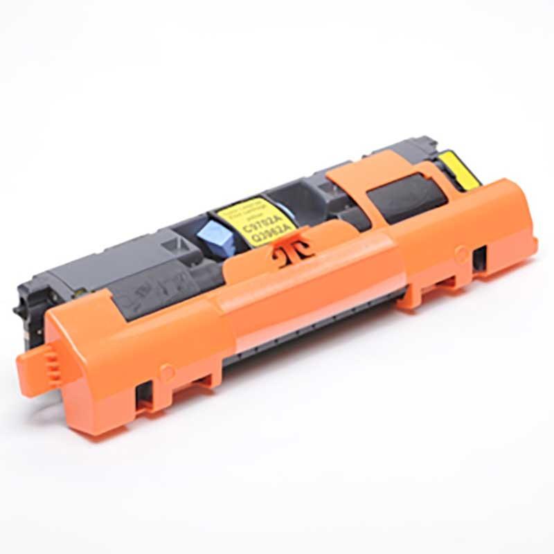 HP Toner Cartridge - Yellow - Compatible - OEM C9702A  Q3962A
