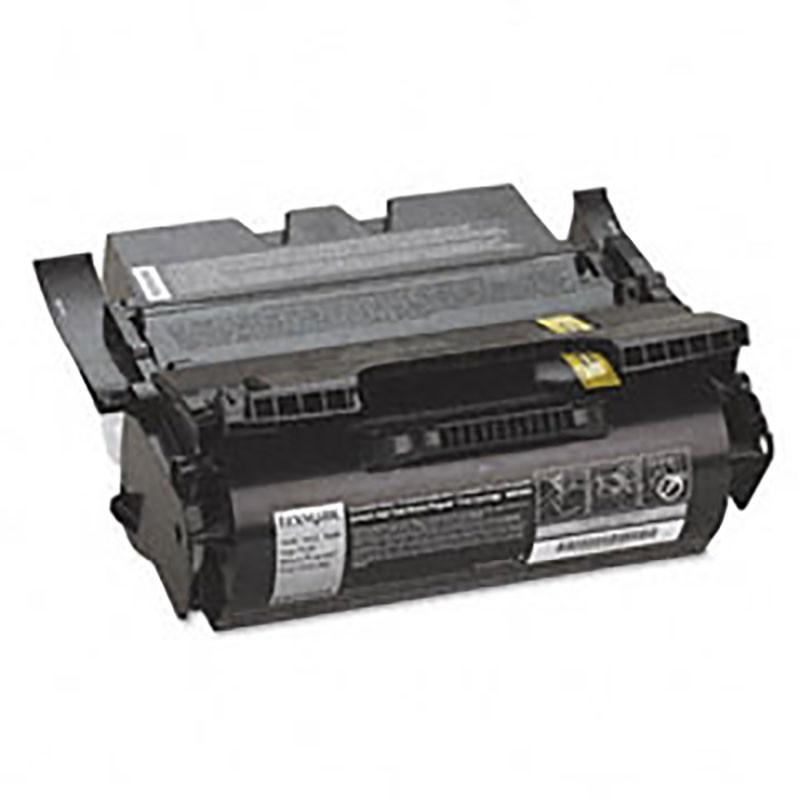 Lexmark Toner Cartridge - Black - Compatible - OEM 64435XA