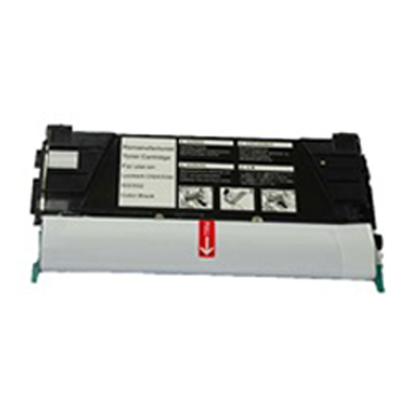 Lexmark Toner Cartridge - Black - Compatible - OEM CLC524K