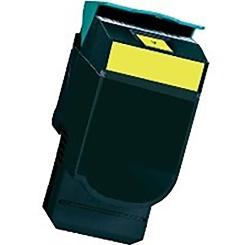 Lexmark Toner Cartridge - Yellow - Compatible - OEM C540H1YH