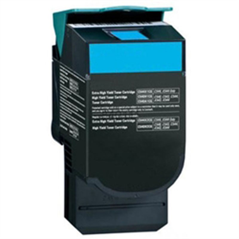 Lexmark Toner Cartridge - Cyan - Compatible - OEM C544X2CG