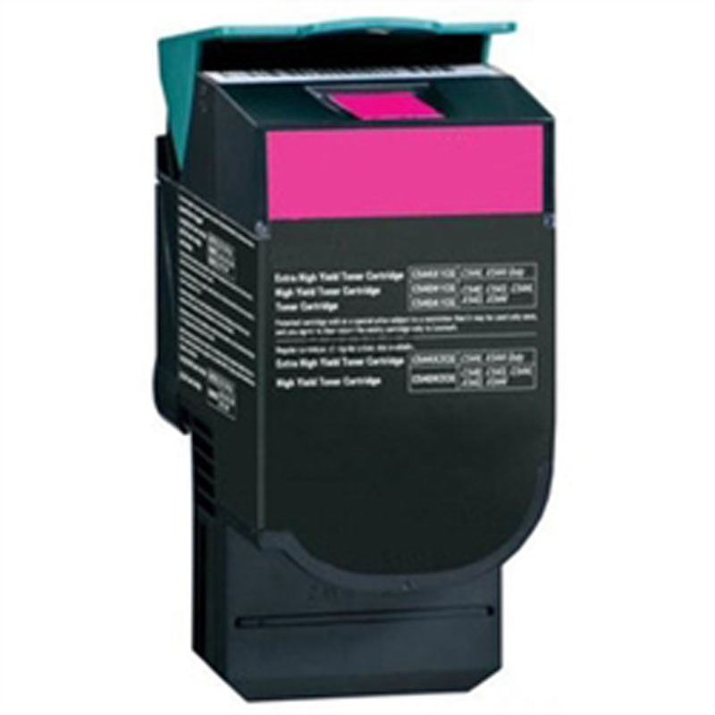 Lexmark High Yield Toner Cartridge - Magenta - Compatible - OEM C544X1MG