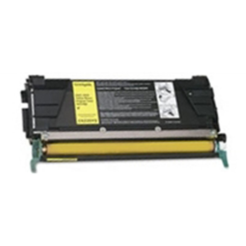Lexmark Toner Cartridge - Yellow - Compatible - OEM CLC834Y