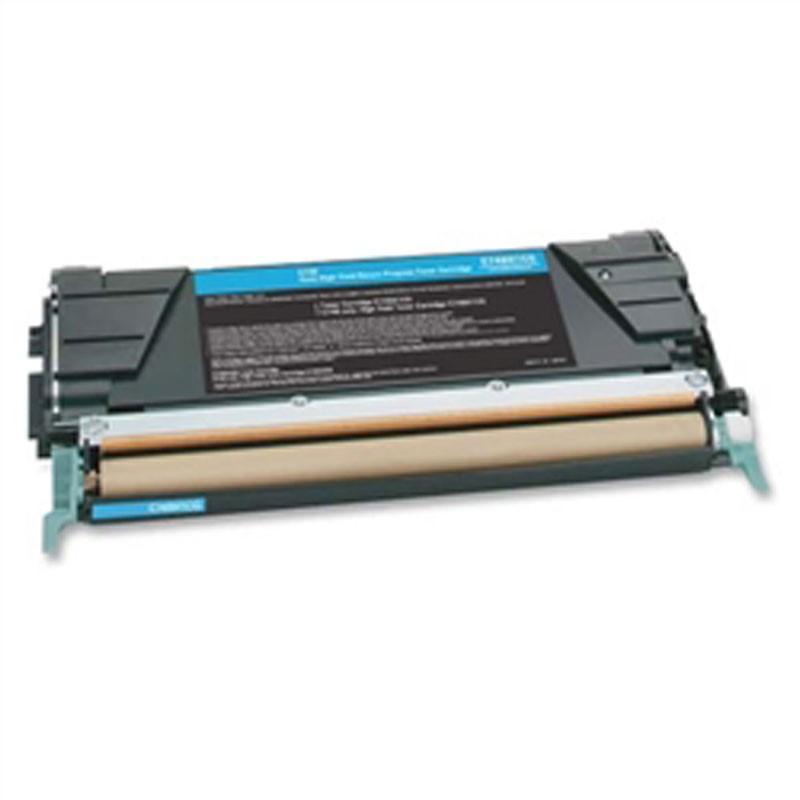 Lexmark Toner Cartridge - Cyan - Compatible - OEM C748H1CG
