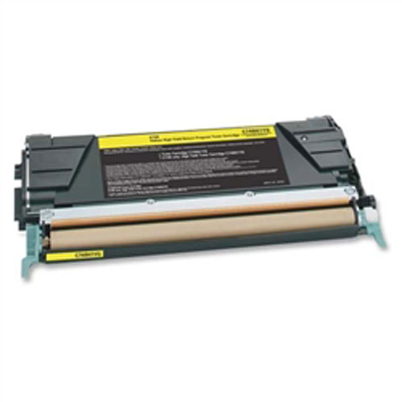 Lexmark Toner Cartridge - Yellow - Compatible - OEM C748H1YG
