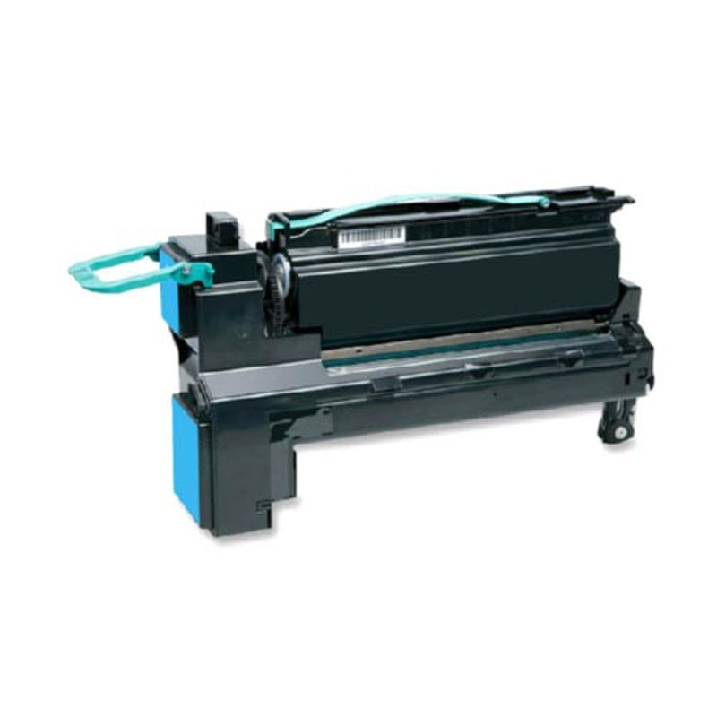 Lexmark High Yield Toner Cartridge - Cyan - Compatible - OEM C792X2CG
