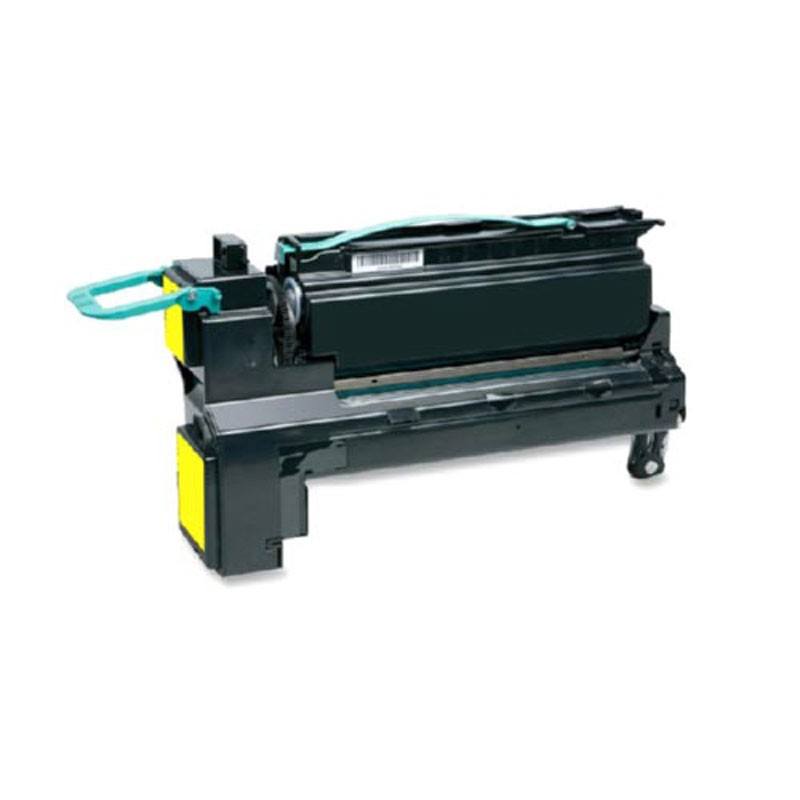 Lexmark High Yield Toner Cartridge - Yellow - Compatible - OEM C792X2YG