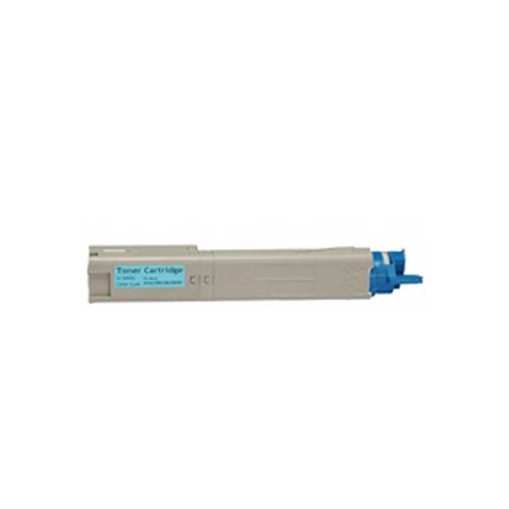 Okidata Toner Cartridge - Cyan - Compatible - OEM 43459303