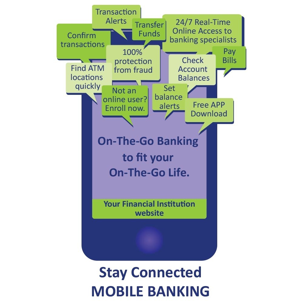 Pre-Designed Drive Up Envelope - On-The-Go Banking