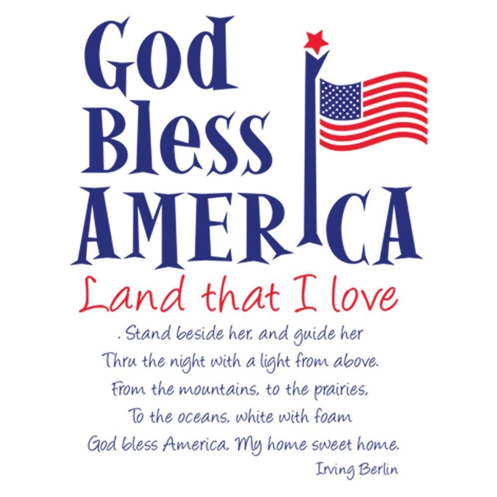 Pre-Designed Drive Up Envelope - God Bless America
