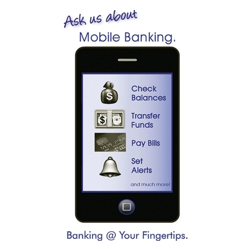 Pre-Designed Drive Up Envelope - Mobile Banking