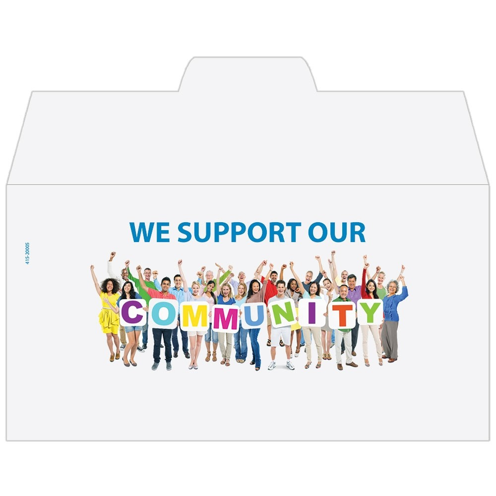 Ready-to-Ship Drive Up Envelopes - Community Support