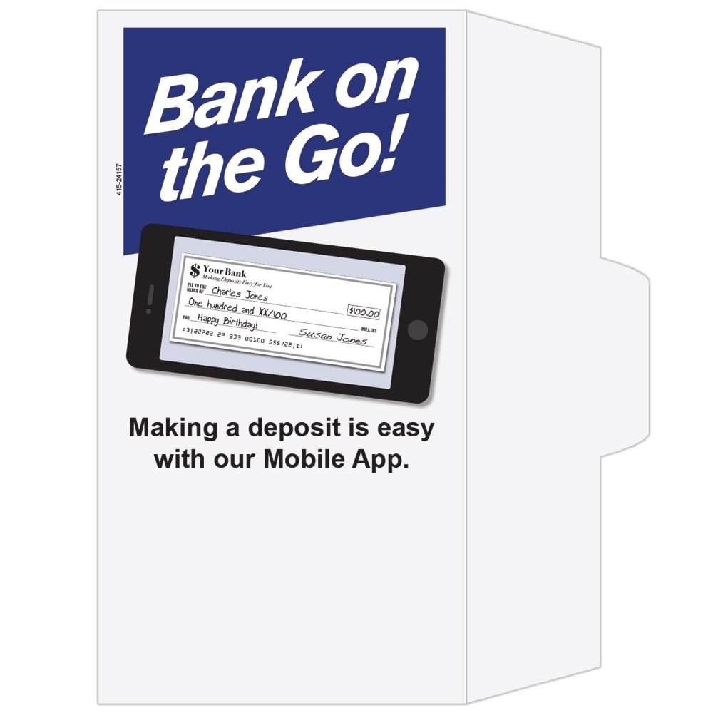 Ready-to-Ship Drive Up Envelopes - Bank On The Go - Phone
