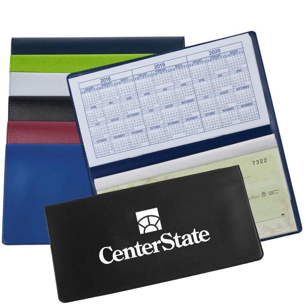 Standard Checkbook Cover w / 1 Color Custom Print
