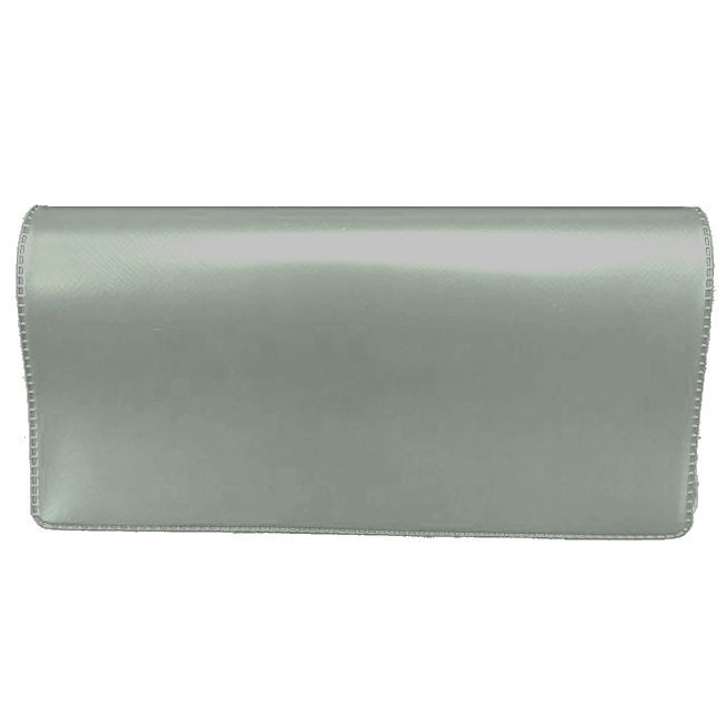 Gray Vinyl Checkbook Covers