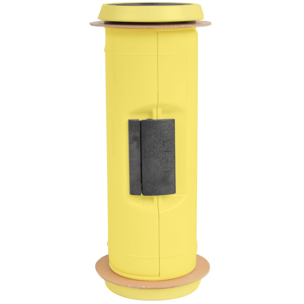 41-5PT PNEUMATIC TUBE - 4.5 , COLOR BODY,  YELLOW END CAPS